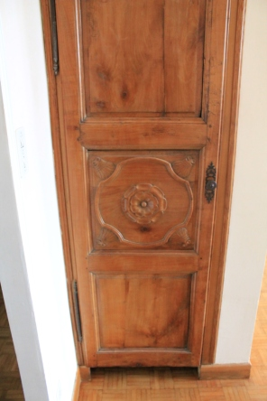 124 year old closet door