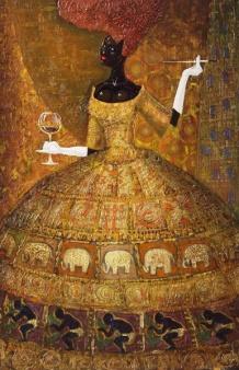 Artist Andrew Shwidiky work entitled African Princess