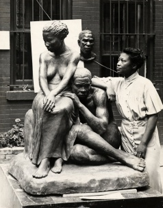 Augusta Savage (Feb 29, 1892 – March 26, 1962) was an African-American sculptor associated with the Harlem Renaissance.