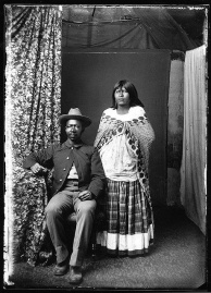 Buffalo Soldier and Indian Wife