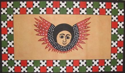 Ethiopian-Angel-Mural-Painting