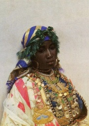 ST PAINTING OF A BLACK WOMAN