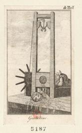 The National Razor as the guillotine was lovingly called during the Reign of Terror