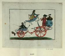 This caricature shows the three estates as part of a carriage 1789