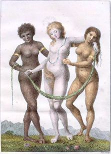 William Blake - Europe Supported by Africa and America (1796)