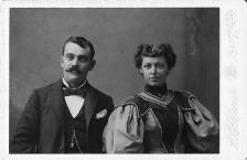 1800's couple
