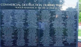 List of Businesses Destroyed during the Destruction of Black Wall Street in Greenwood, Ok (suburb of Tulsa) May 31 - June 1, 1921. Tragically STILL one of the bloodiest and most horrendous race riots (and acts of terrorism) that the United States has ever experienced. This was the type of community that African Americans are still, today, attempting to reclaim and rebuild