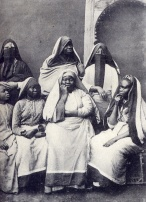 African women in Egypt, circa 1905.
