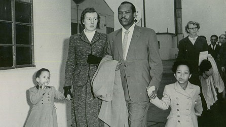 An African prince and his English wife