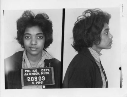 Catherine Burks. Arrested in 1961 Freedom Rider
