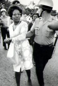 Clara Mae Luper was one of the early leaders of the civil rights movement in Oklahoma in the 50s. She was arrested 26 times for her civil rights activities.