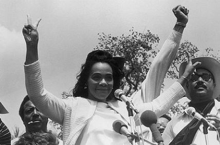Coretta Scott King with Jesse Jackson