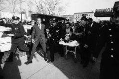 February 21, 1965, Malcolm X assassinated, NYC