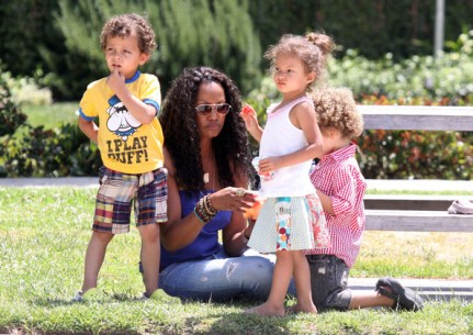 Garcelle-Beauvais-Kids-Dont-Have-PS-Wii-Play-Football-Baseball