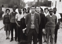 Julian Bond and members of the Student Nonviolent Coordinating Committee, Atlanta, Georgia, March 23, 1963