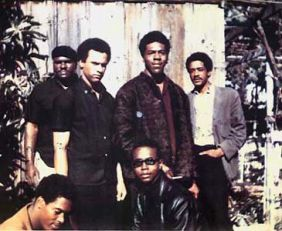 Original six members of the Black Panther Party in November, 1966
