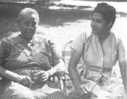 Septima Poinsette Clark, the grandmother of the civil rights movemen