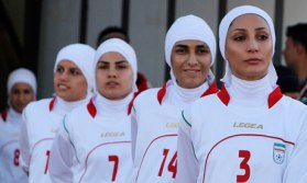 The Iranian women's national football team